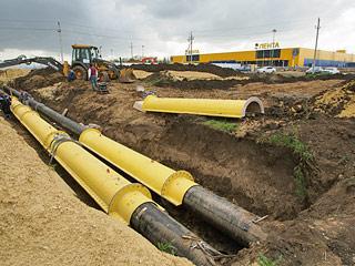 Защитные футляры для газопровода